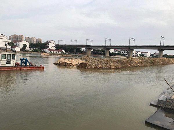 上高縣南港水庫清淤工程